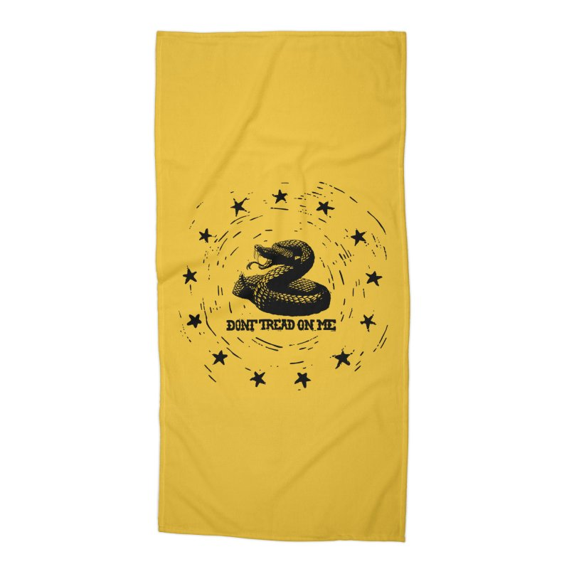 Dont Tread on Me Accessories Beach Towel by municipal's Artist Shop