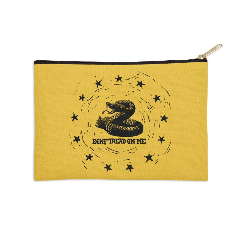 Dont Tread on Me Accessories Zip Pouch by municipal's Artist Shop