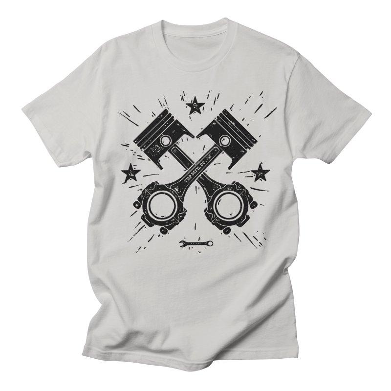 Pistons Men's T-Shirt by municipal's Artist Shop