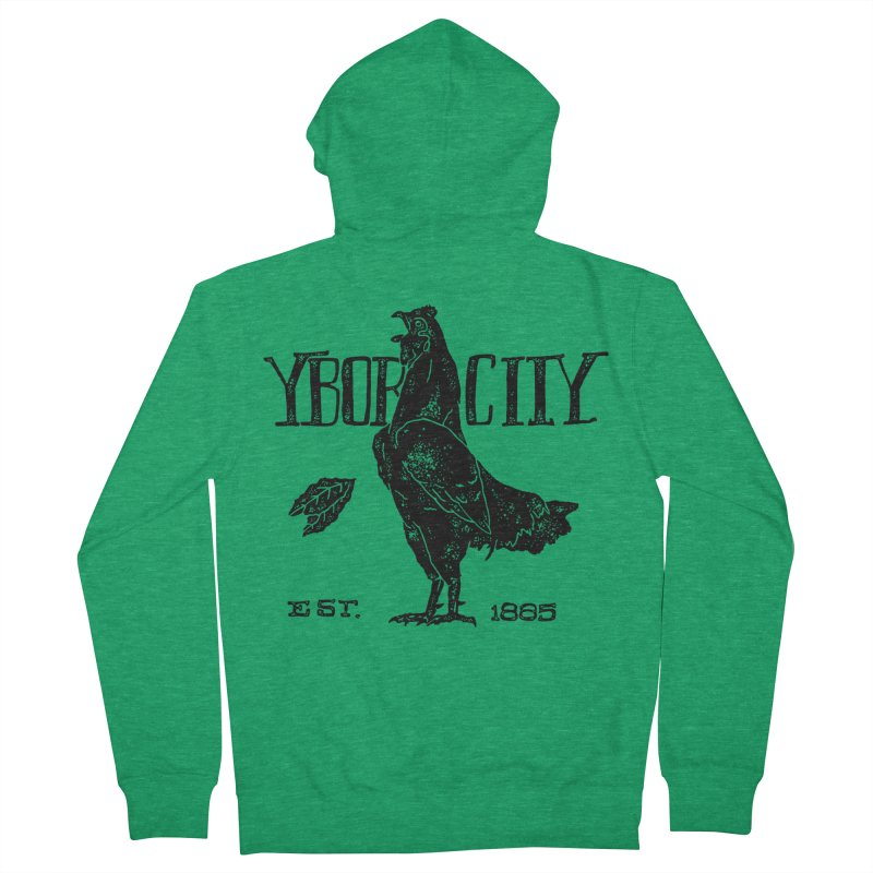 Ybor City Women's Zip-Up Hoody by municipal's Artist Shop