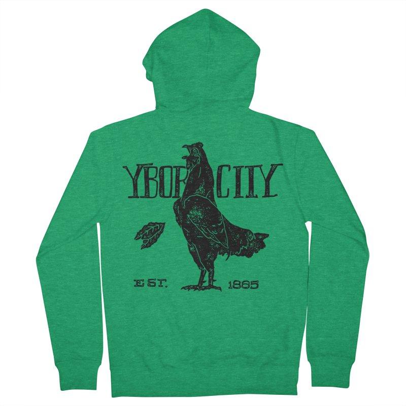 Ybor City Men's Zip-Up Hoody by municipal's Artist Shop