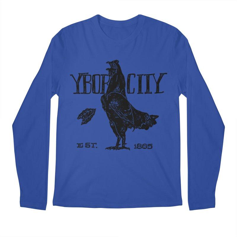 Ybor City Men's Longsleeve T-Shirt by municipal's Artist Shop