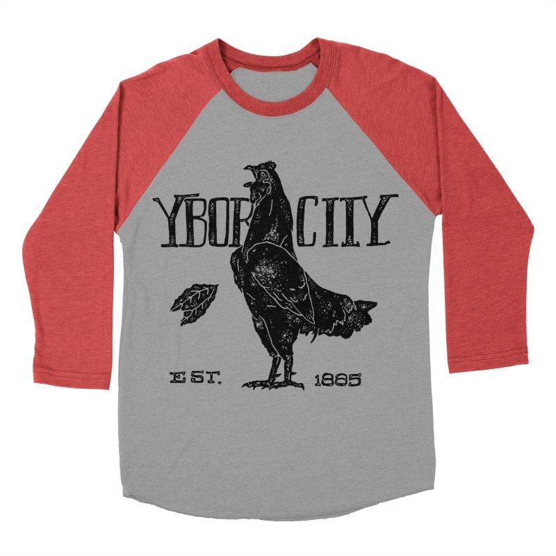 Ybor City Women's Baseball Triblend T-Shirt by municipal's Artist Shop