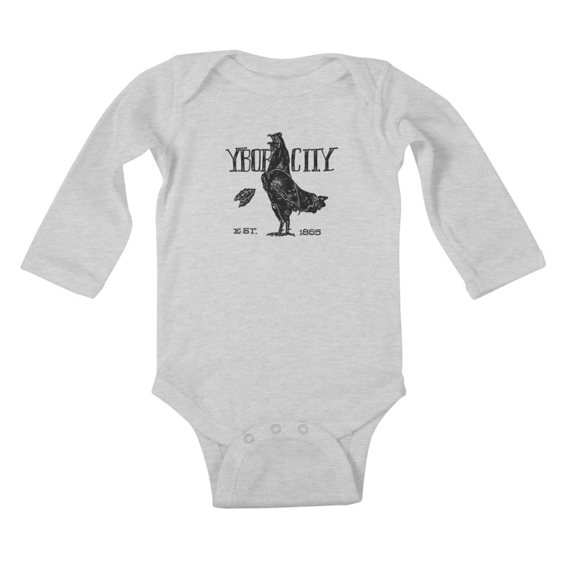 Ybor City Kids Baby Longsleeve Bodysuit by municipal's Artist Shop