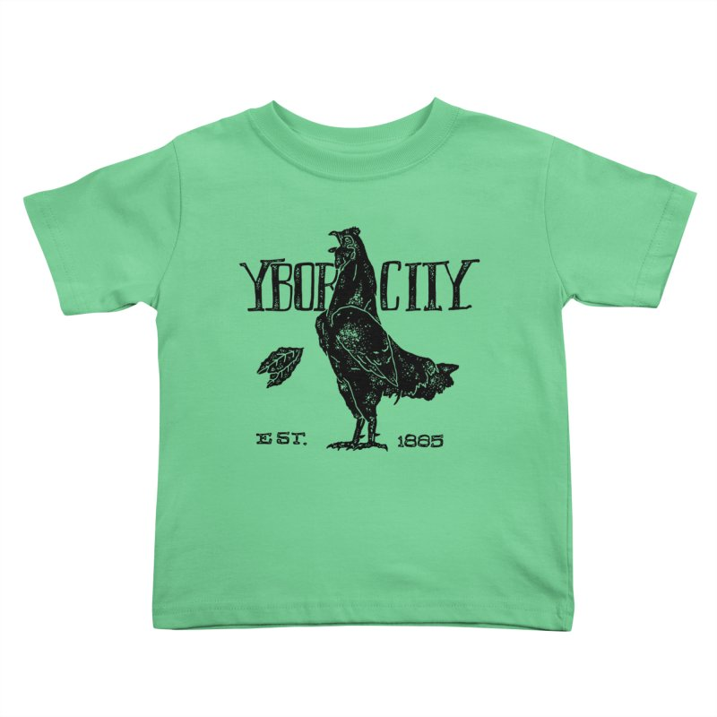 Ybor City Kids Toddler T-Shirt by municipal's Artist Shop