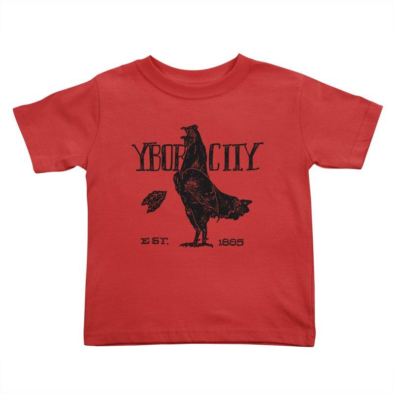 Ybor City Kids Toddler T-Shirt by municipal's Artist Shop