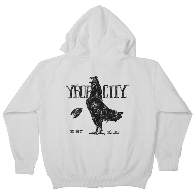 Ybor City Kids Zip-Up Hoody by municipal's Artist Shop