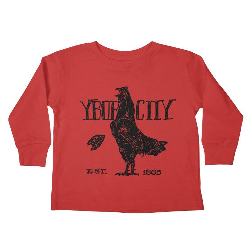 Ybor City Kids Toddler Longsleeve T-Shirt by municipal's Artist Shop