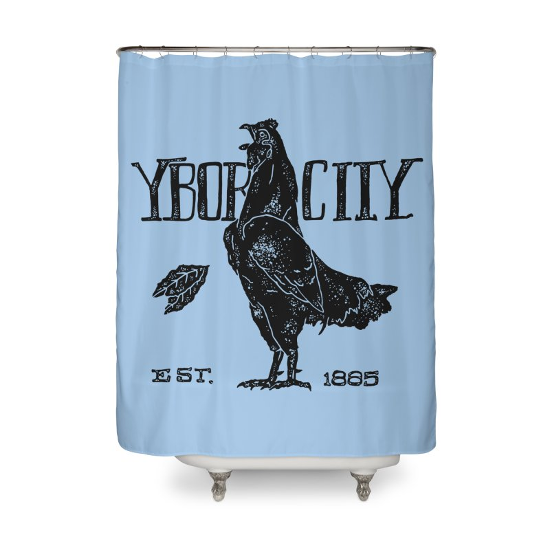 Ybor City Home Shower Curtain by municipal's Artist Shop