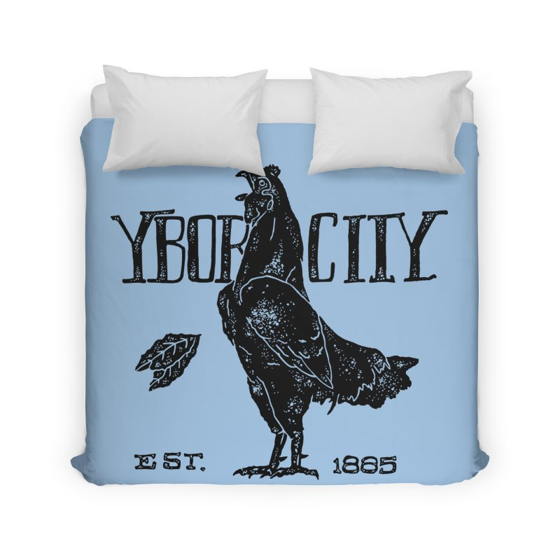 Ybor City Home Duvet by municipal's Artist Shop