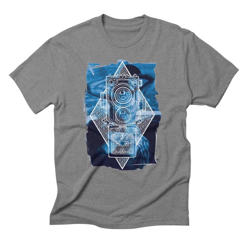 Camera Men's Triblend T-Shirt by MunkyDesign