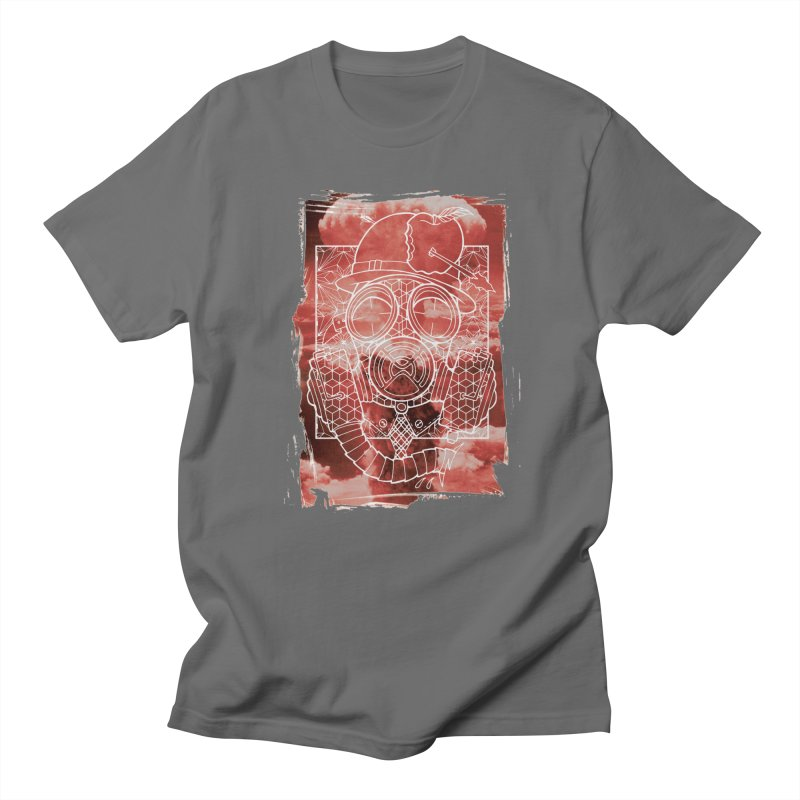 Gas mask Men's T-Shirt by MunkyDesign