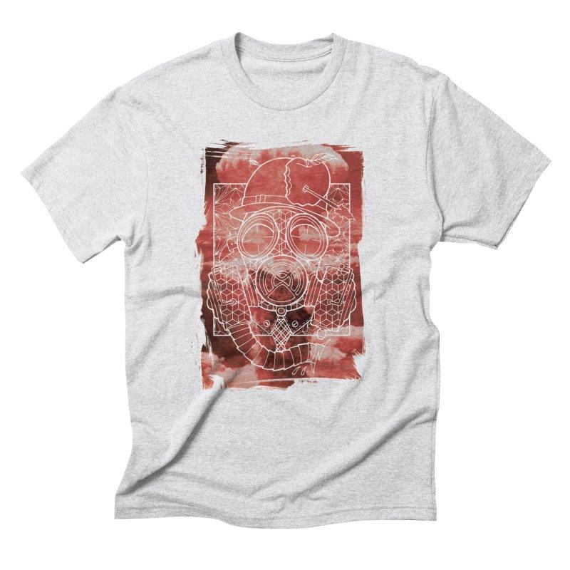 Gas mask Men's Triblend T-Shirt by MunkyDesign