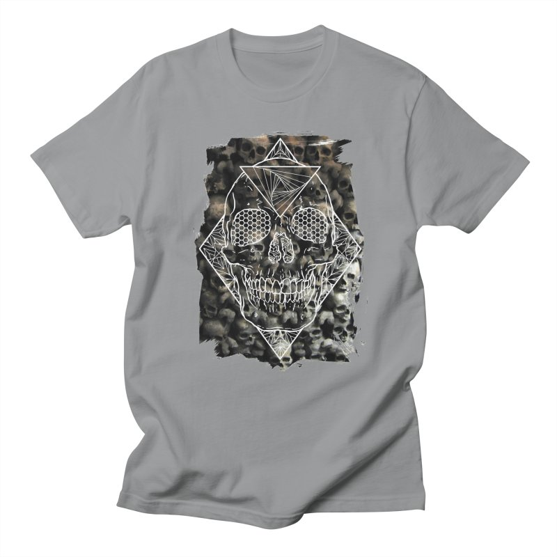 Skull Men's Regular T-Shirt by MunkyDesign