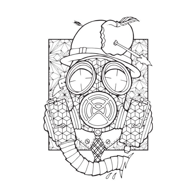 Gasmask lines by MunkyDesign