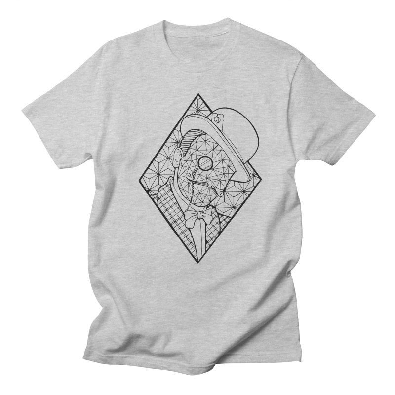 Gentleman lines Men's Regular T-Shirt by MunkyDesign