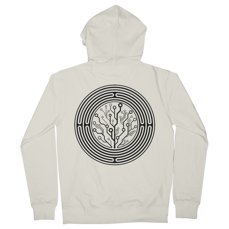 Geometry 1 Women's French Terry Zip-Up Hoody by MunkyDesign