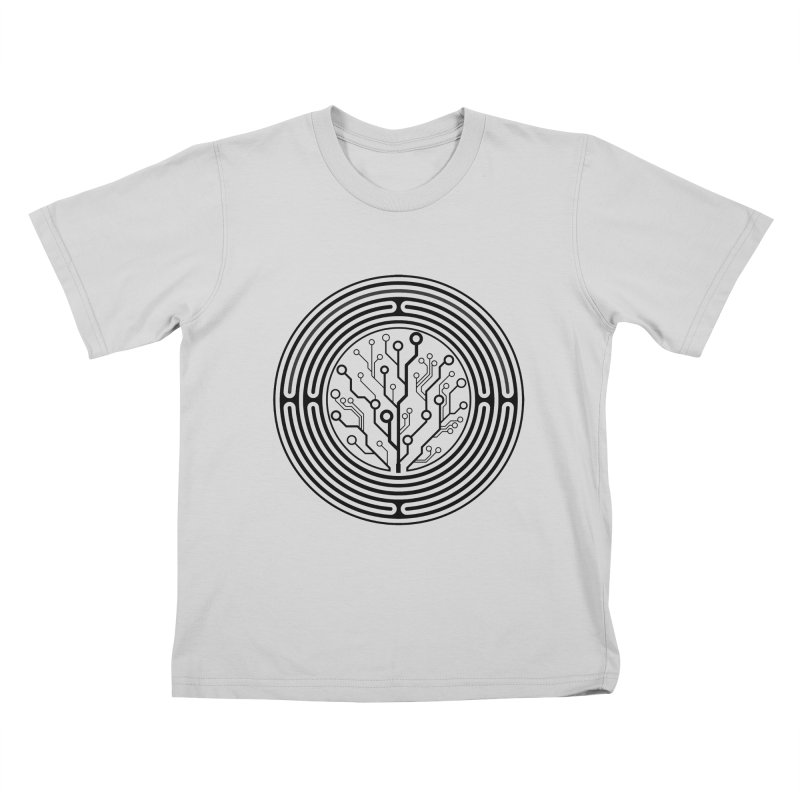 Geometry 1 Kids T-Shirt by MunkyDesign