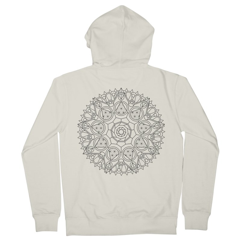 Geometry 2 Women's French Terry Zip-Up Hoody by MunkyDesign