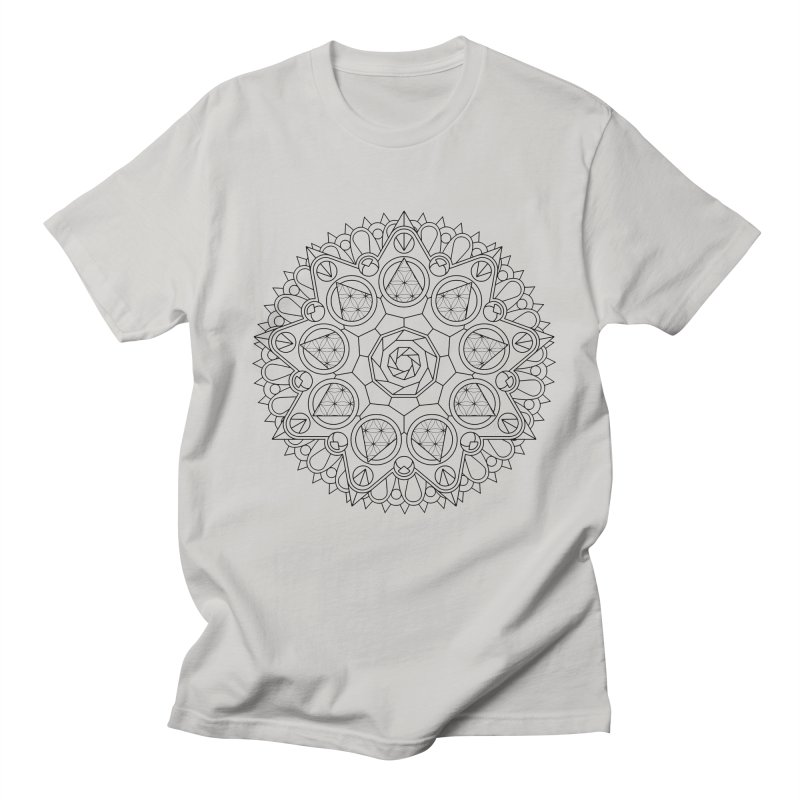 Geometry 2 Men's Regular T-Shirt by MunkyDesign