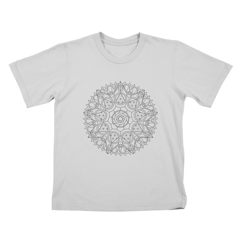 Geometry 2 Kids T-Shirt by MunkyDesign