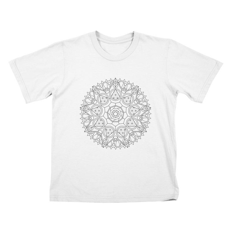 Geometry 2 Kids T-Shirt by MunkyDesign
