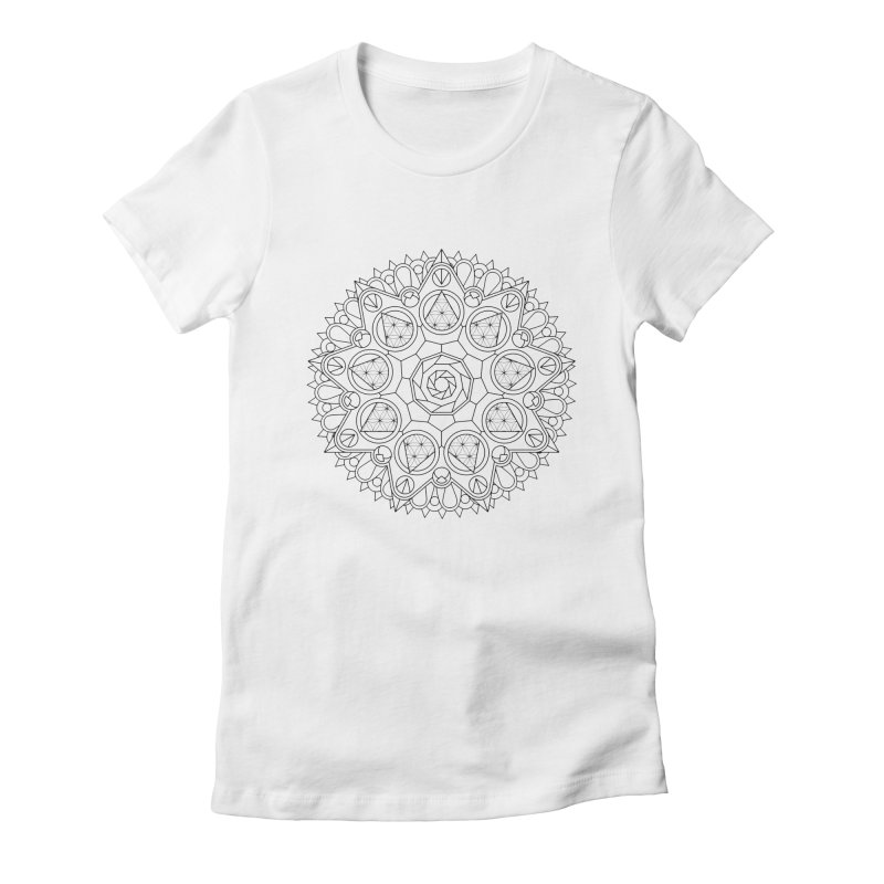 Geometry 2 Women's Fitted T-Shirt by MunkyDesign