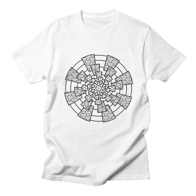 Geometry 3 Men's Regular T-Shirt by MunkyDesign
