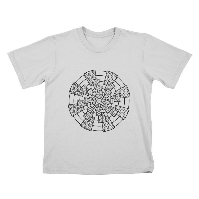 Geometry 3 Kids T-Shirt by MunkyDesign