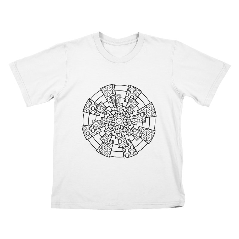 Geometry 3 Kids T-Shirt by MunkyDesign