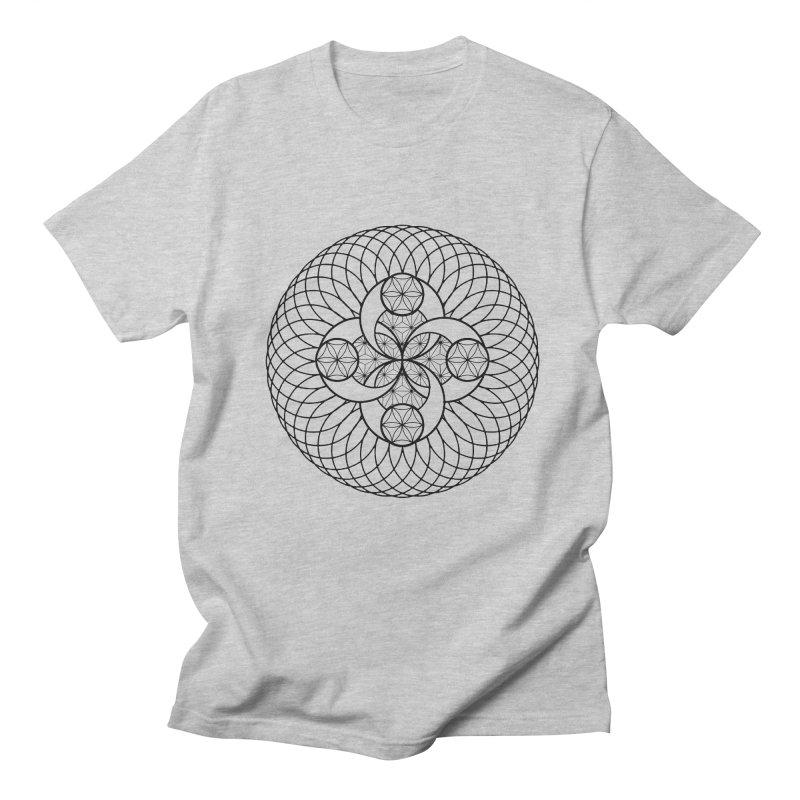 Geometry 4 Men's Regular T-Shirt by MunkyDesign