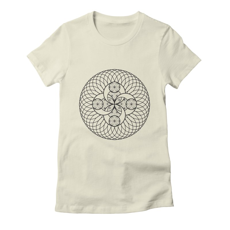 Geometry 4 Women's Fitted T-Shirt by MunkyDesign