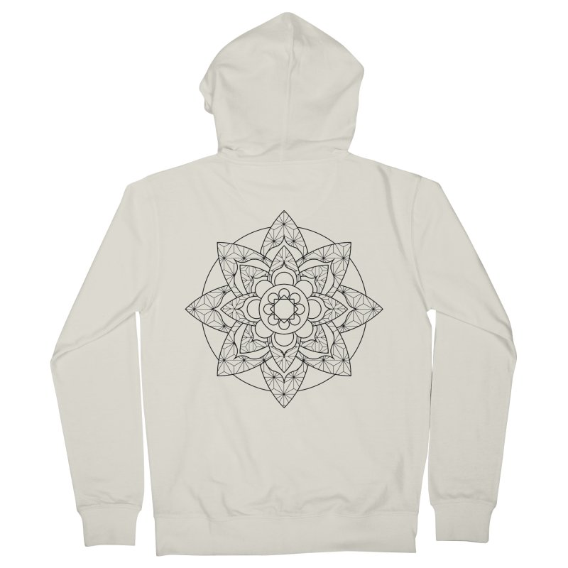 Geometry 5 Women's French Terry Zip-Up Hoody by MunkyDesign