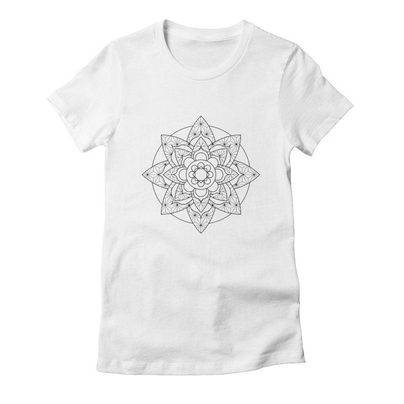 Geometry 5 Women's Fitted T-Shirt by MunkyDesign