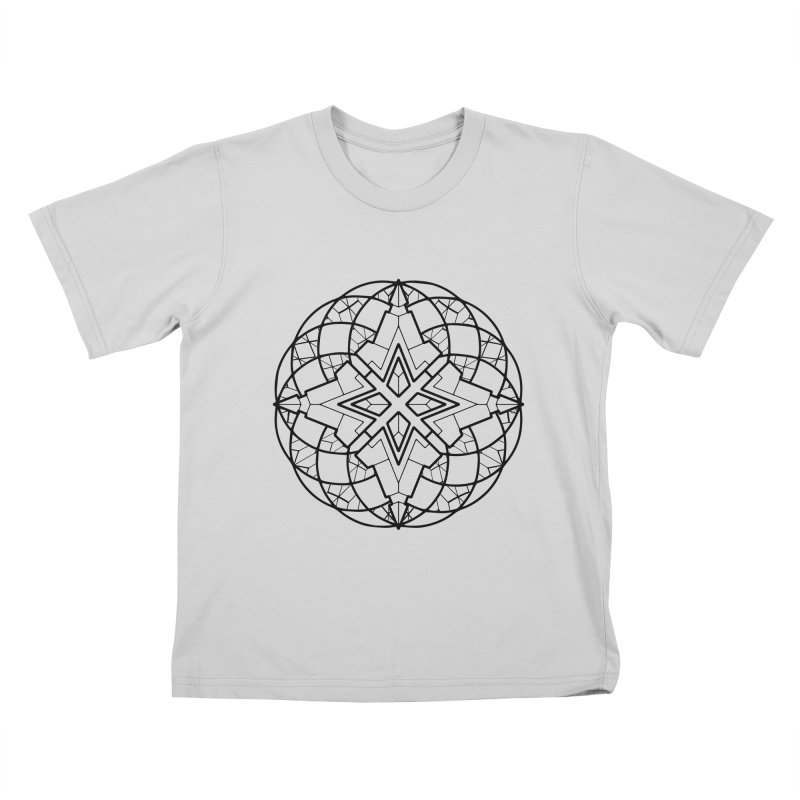 Geometry 6 Kids T-Shirt by MunkyDesign