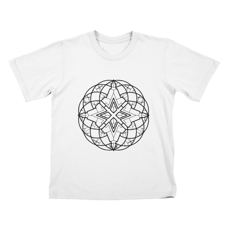Geometry 6 Kids T-Shirt by MunkyDesign