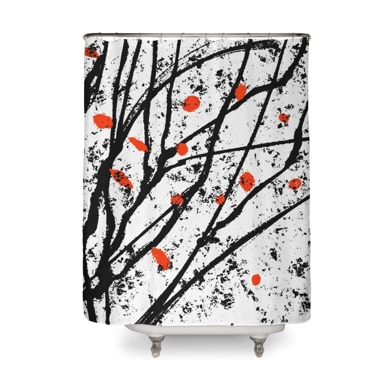 Fruit tree Home Shower Curtain by sleepwalker's Artist Shop