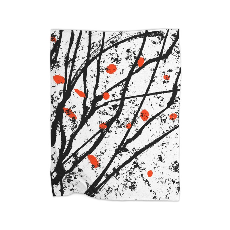 Fruit tree Home Blanket by sleepwalker's Artist Shop