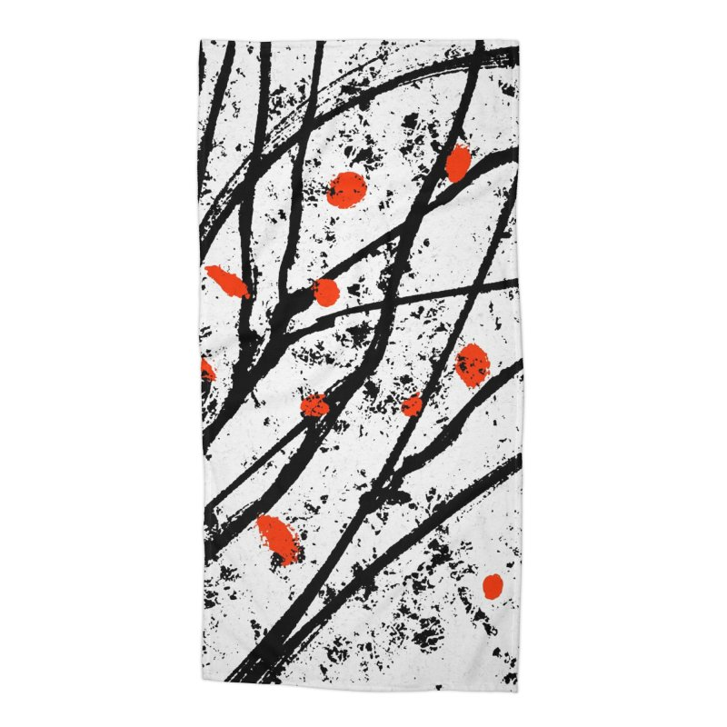 Fruit tree Accessories Beach Towel by sleepwalker's Artist Shop