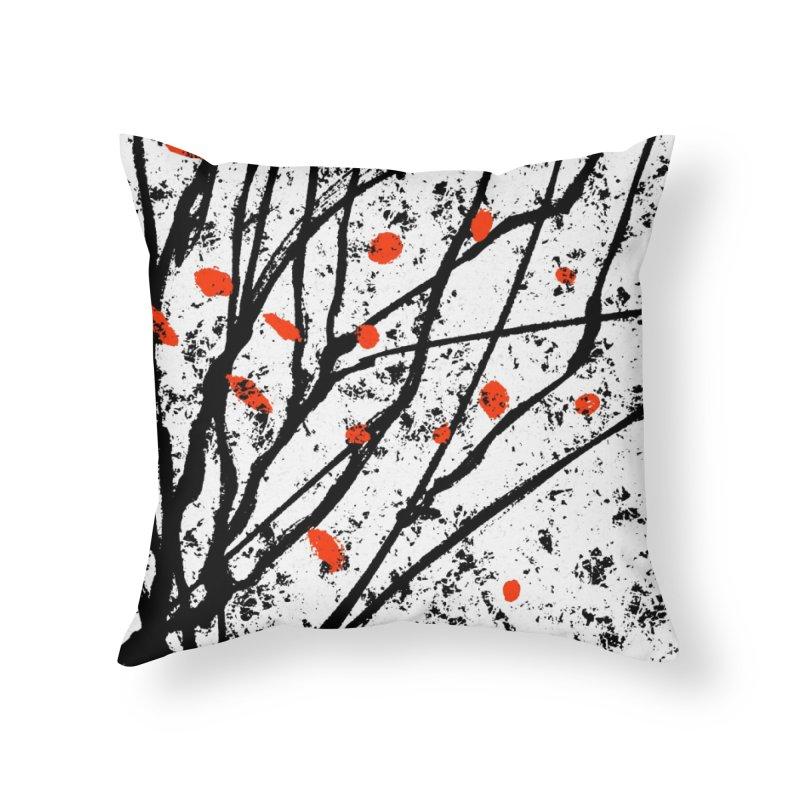 Fruit tree Home Throw Pillow by sleepwalker's Artist Shop