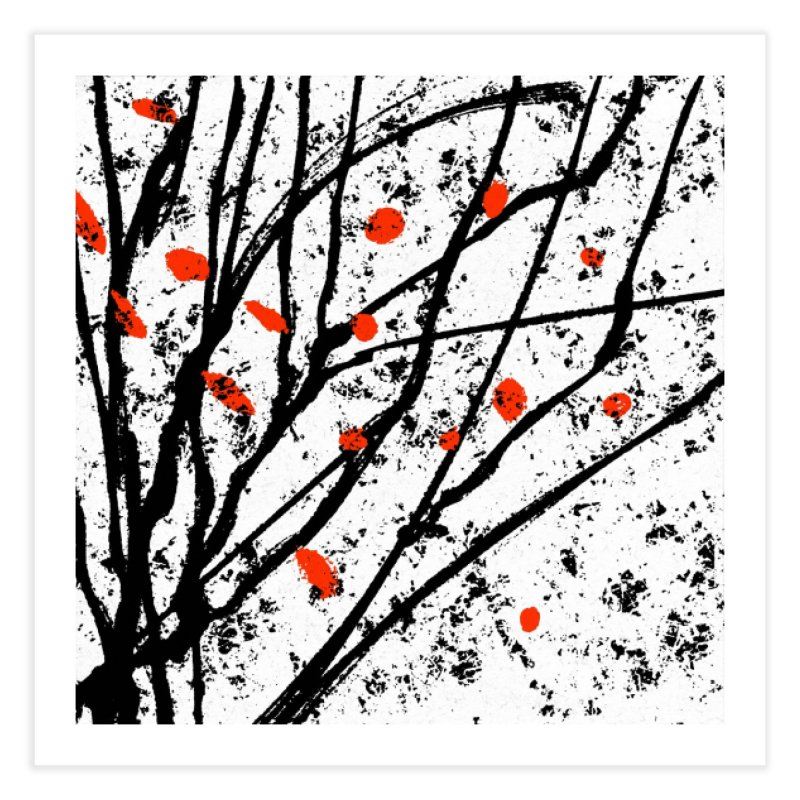 Fruit tree Home Fine Art Print by sleepwalker's Artist Shop