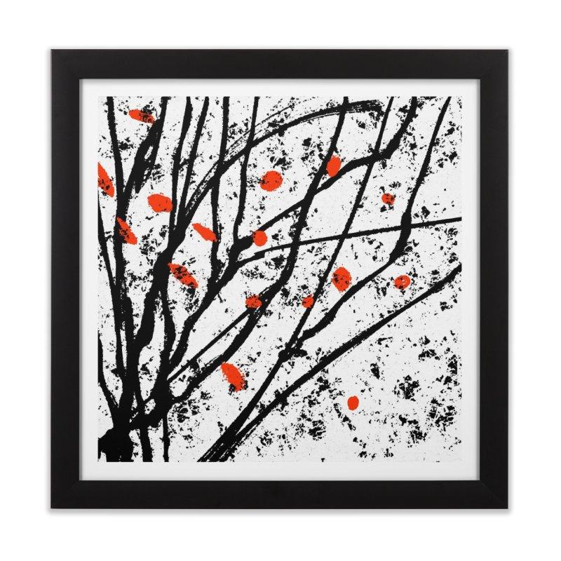 Fruit tree Home Framed Fine Art Print by sleepwalker's Artist Shop