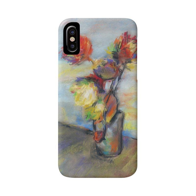 Flowers. Pastel crayons on cardboard. Accessories Phone Case by sleepwalker's Artist Shop