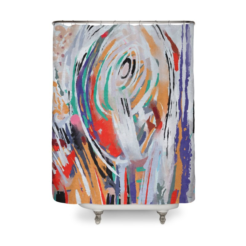 Abstract painting Home Shower Curtain by sleepwalker's Artist Shop