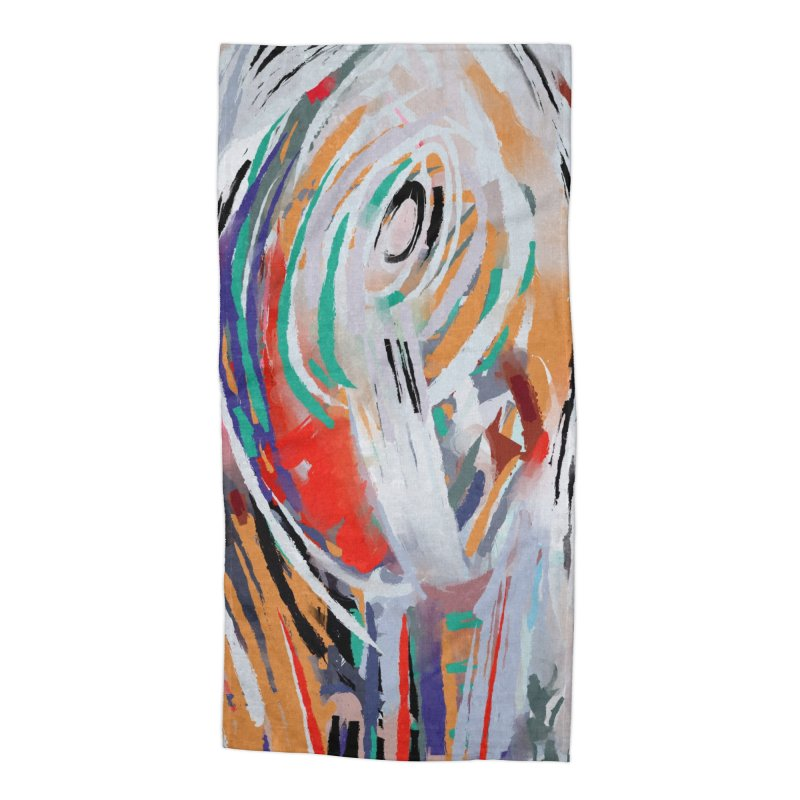 Abstract painting Accessories Beach Towel by sleepwalker's Artist Shop