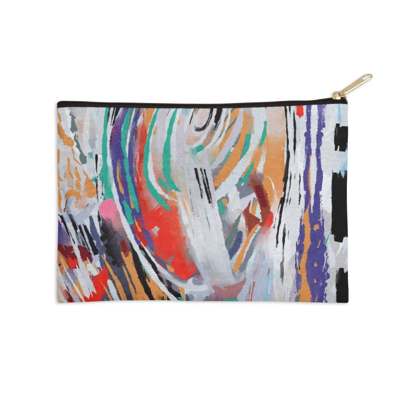 Abstract painting Accessories Zip Pouch by sleepwalker's Artist Shop