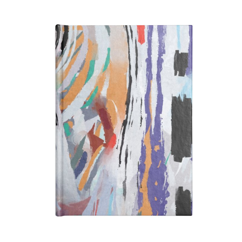 Abstract painting Accessories Notebook by sleepwalker's Artist Shop