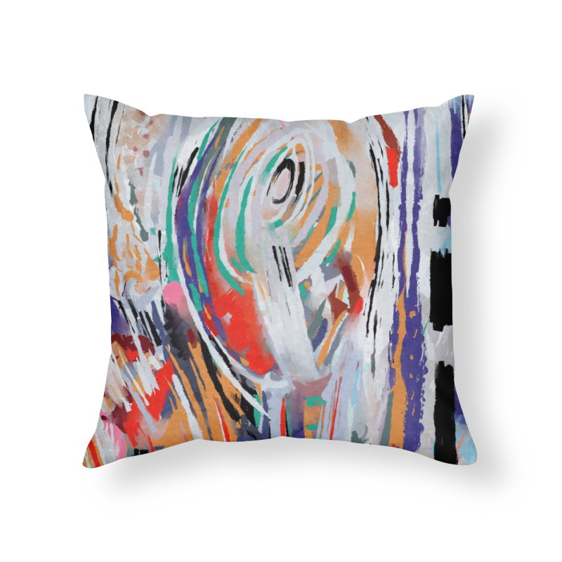 Abstract painting Home Throw Pillow by sleepwalker's Artist Shop