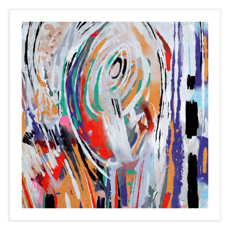 Abstract painting Home Fine Art Print by sleepwalker's Artist Shop