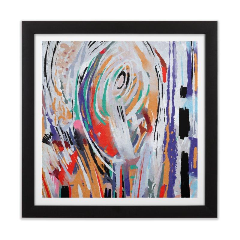 Abstract painting Home Framed Fine Art Print by sleepwalker's Artist Shop